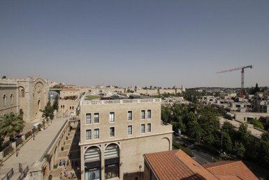 New apartment in Mamilla