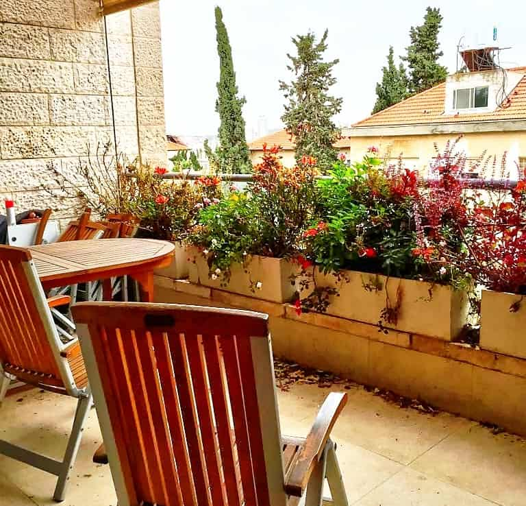 Old Katamon apartment for sale Jerusalem