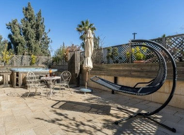 house for sale in Rechavia Jerusalem