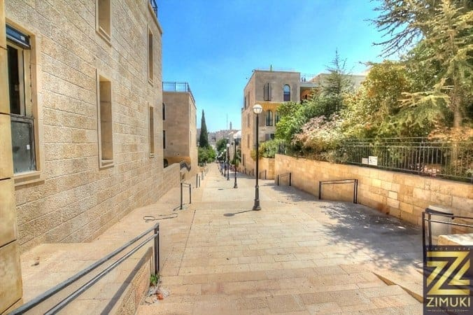 Property in David village Mamilla JErusalem