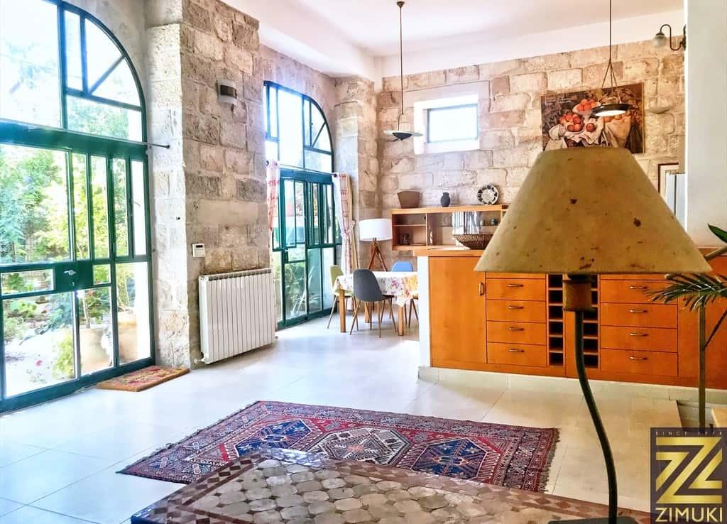 Templer house with garden Jerusalem