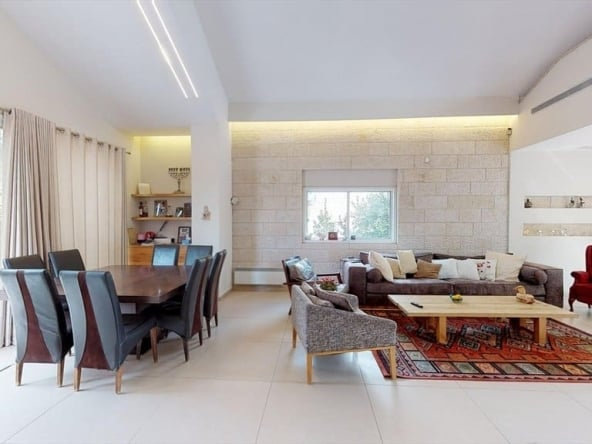 Arnona Penthouse duplex for sale Jerusalem